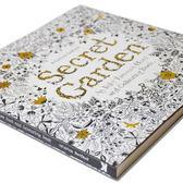 英文秘密花園正版成人減壓學生填色本涂色書畫冊涂鴉線裝平鋪