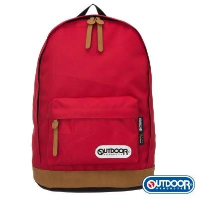 OUTDOOR - 復古學院13吋電腦後背包-紅 OD4084MKRD