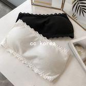防走光無肩帶胸墊內衣 CC KOREA ~ Q16964