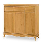 【時尚屋】[G18]璐易絲檜木色4尺鞋櫃G18-399-2免組裝/免運費/鞋櫃