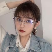 防藍光復古眼鏡復古