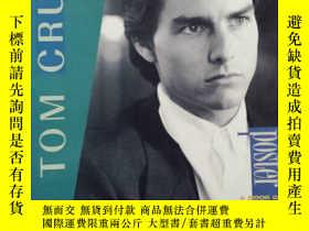 二手書博民逛書店Tom罕見Cruise:A POSTER BOOK(英文原版,湯