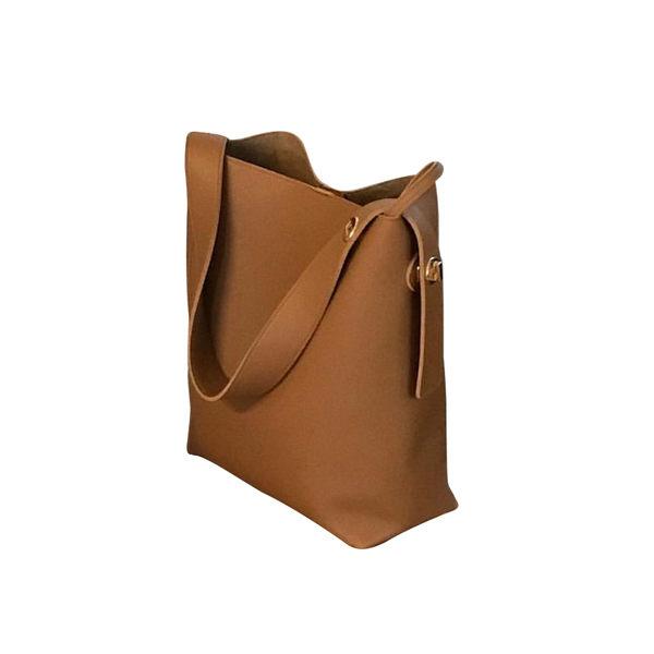 ZUCAS~(T-0632)簡約單肩水桶包ins同款斜挎大容量包