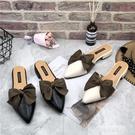 穆勒鞋 2021新款夏季時尚百搭包頭半拖鞋女粗跟穆勒鞋尖頭外穿懶人涼拖鞋 【618 狂歡】