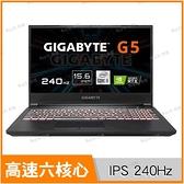 技嘉 GIGABYTE G5 KC 電競筆電 (送512G PCIe SSD)【送後背包/15.6 FHD/i5-10500H/16G/RTX 3060/512G SSD/Buy3c奇展】