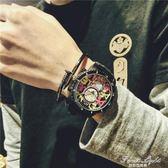 情侶手錶復古休閒 果果輕時尚igo