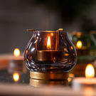 Royal古典小燭杯-灰-生活工場