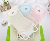 嬰兒洗澡浴網新生兒洗澡架防滑寶寶沐浴床沐浴架浴盆支架通用網兜 蜜拉貝爾