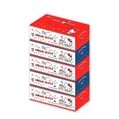 【春風】Hello Kitty雜貨風盒裝面紙150抽*5盒*10串/箱-箱購