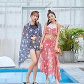泳衣(三件套)-韓版時尚清新俏麗女比基尼2色73rz47[時尚巴黎]