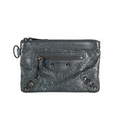 【BALENCIAGA】手拿大型零錢包萬用袋 (鉛灰色) 327105 D94OT 1202