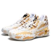 ADIDAS 籃球鞋 RIC FLAIR X DAME 7 GCA 白金色 籃球鞋 男 (布魯克林) FY2802