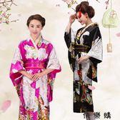 日本和服女正裝日式和風浴衣cos