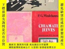 二手書博民逛書店意大利語小說罕見Chiamate Jeeves   P.G.Wo