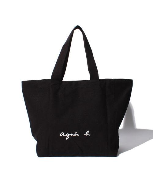 agnès b. VOYAGE GO03‐01 帆布托特包