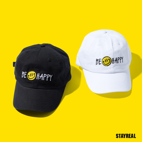 STAYREAL BE HAPPY 老帽