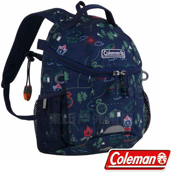 Coleman CM-32954露營地圖 PETIT III兒童背包 5L休閒包/校園背包/書包/上課小背包/遠足背包/後背包