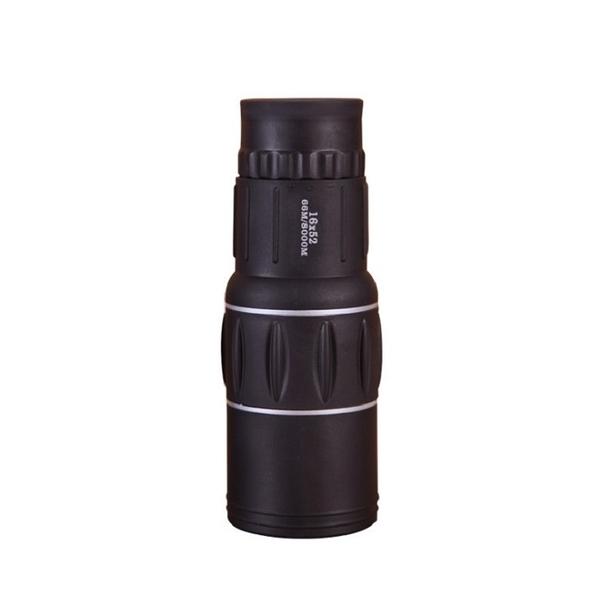 16X52單筒望遠鏡 高倍高清微光夜視光學調焦便攜禮品演唱會歌友會賞鳥 野外生存遊戲