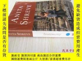 二手書博民逛書店英文原版罕見Testimony: A NovelY7215 Anita Shreve (Author) Ba