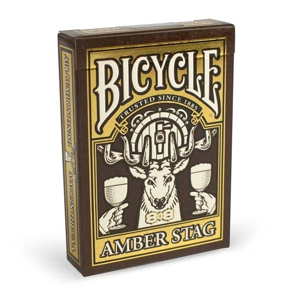 【USPCC 撲克】BICYCLE 808 Amber Stag 撲克牌
