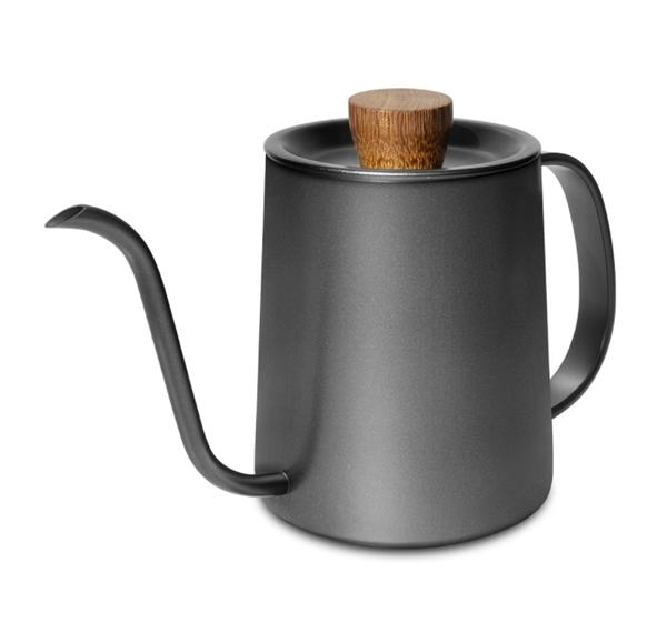 金時代書香咖啡 Driver Superior 細口壺 600ml - 烏黑 DRP-D002283-BA