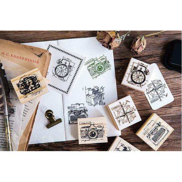 印章│復刻手稿款式木頭印章