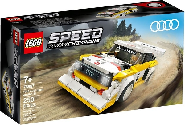 樂高LEGO SPEED 1985 奧迪 Sport quattro S1 76897 TOYeGO 玩具e哥