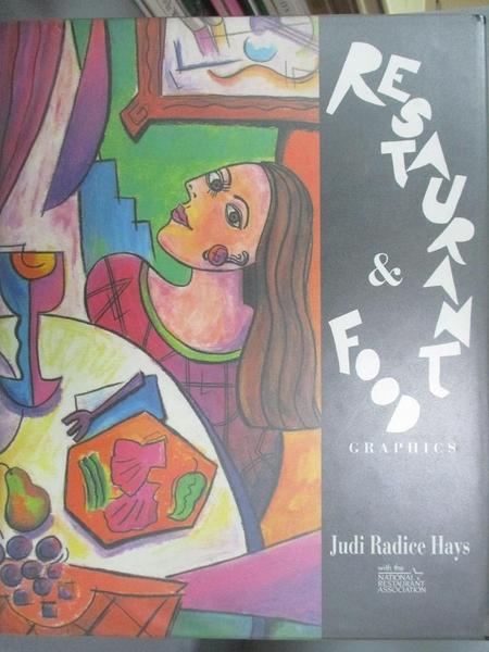 【書寶二手書T9/廣告_JGI】Restaurant & food graphics_Judi Radice Hays