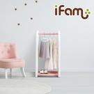 韓國 IFAM 兒童吊掛衣架組 粉紅色