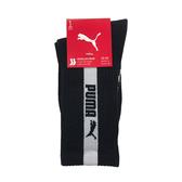 Puma 黑色 襪子 長襪 男女款 中筒襪 運動長襪 棉質 未來騎手 黑色襪子 90777502