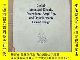 二手書博民逛書店digital罕見integrated circuit,operational amplifier and opt