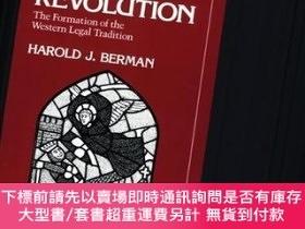 二手書博民逛書店Law罕見and Revolution, The Formation of the Western Legal T