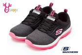 SKECHERS SKECH-AIR 女運動鞋 慢跑 氣墊鞋 P8277#黑色◆OSOME奧森童鞋