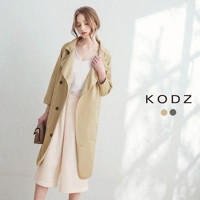 東京著衣【KODZ】法式俐落感風衣外套(170146)