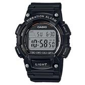 【CASIO】 行家配備10年電力電子碼錶-黑(W-736H-1A)