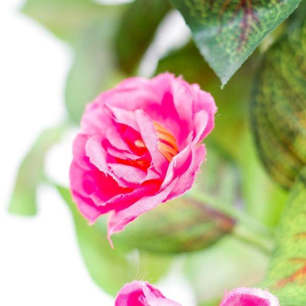 壁掛仿真植物假花玫瑰花吊蘭盆栽客廳陽臺墻壁吊頂塑料花藤掛壁花