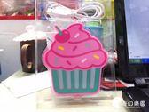 創意蛋糕USB保溫杯墊 CUPCAKE水杯加熱碟 電腦USB咖啡保溫杯墊-奇幻樂園