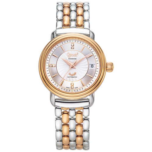 Ogival 瑞士愛其華 雅仕鑽石自動機械腕錶/35mm