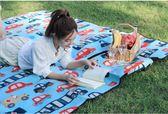 店長推薦▶野餐墊防潮墊戶外加厚野外春游便攜野餐布炊沙灘超輕可折疊地墊子