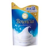 日本牛乳石鹼 美肌保濕沐浴乳補充包 (藍-優雅花香型) 430ml