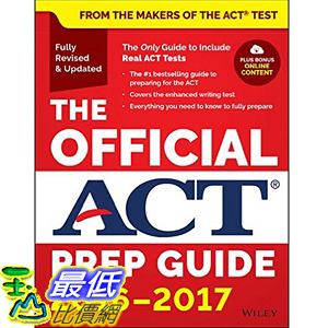 [美國直購] 2016美國暢銷書 The Official ACT Prep Guide, 2016 - 2017