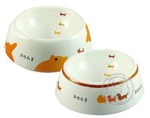【zoo寵物商城】MARUKAN《陶瓷》狗食碗DC-196/DC-198 (S)