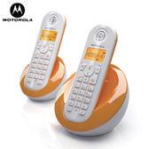 MOTOROLA 數位雙手機無線電話 C-602 橘