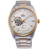 ORIENT東方錶SEMI-SKELETON系列經典鏤空機械錶  RA-AR0001S 金