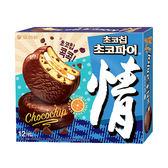 好麗友情巧克力脆片派444g【愛買】