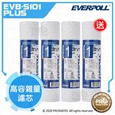 買三送一 水達人~EVERPOLL 公司貨 高容雜量濾芯/高容雜質濾芯(EVB-S101 PLUS)