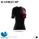 Compressport 瑞士 PT 女版短袖三鐵衣 Postural 三鐵衣 黑色 / 白色 CS1-1132-2 原價4200元