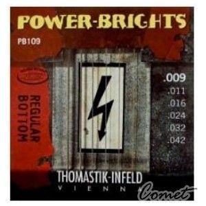 【小新的吉他館】Thomastik Infeld奧地利手工電吉他弦 (Power Brights PB系列: PB109(0.09-0.42)【手工弦】