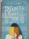 【書寶二手書T5/原文小說_AK3】The Readers of Broken Wheel Recommend_Katarina Bivald