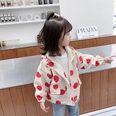 女童外套2020新款春秋裝寶寶洋氣風衣兒童韓版上衣小女孩夾克潮 怦然心動